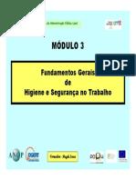 Módulo 3 - Fundamentos Gerais de HST