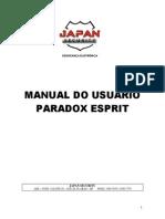 Manual Paradox Esprit