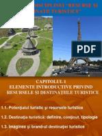 Resurse Si Destinatii Turistice 2014