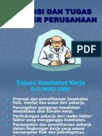 Fungsi Dan Tugas Dokter K3