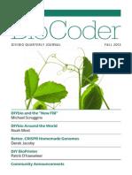 Bio Coder Fall 2013
