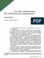 Bayes AproximacionesDelConductismoALaSaludMentalComunita 65880