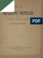 Guia Do Emigrante Portuguez Minas Gerais