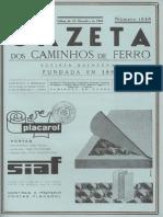 Gazeta dos Caminhos de Ferro nº 1848