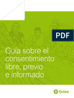 Guia Sobre El Consentimiento Libre Previo e Informado