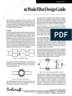 CM Filter Design Guide