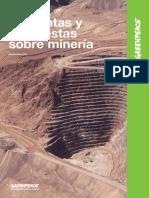 Cartilla sobre Minería a Cielo ABierto