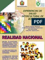 Bolivia Experiencia de Interculturalidad