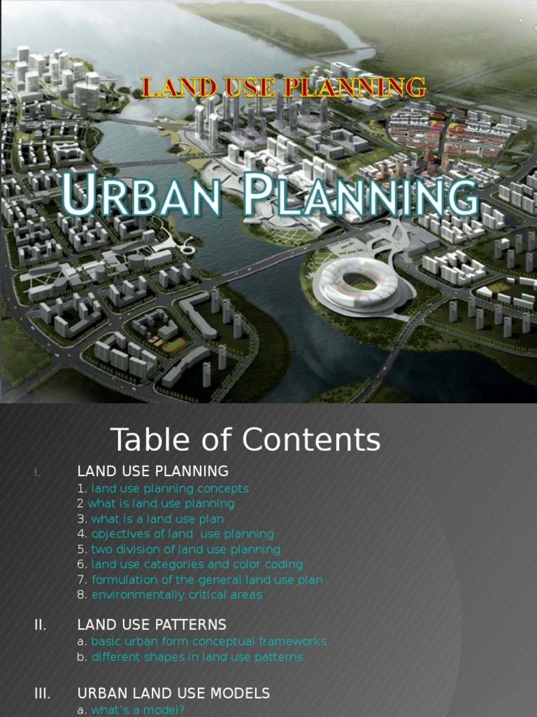 urban land use models