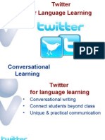 Twitter and Microblogging for Language Learning