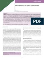 Estudo sobre a eficácia do Biofeedback na Incontinência Urinária