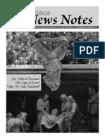 Province News Notes November/December 2011