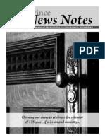Province News Notes September 2011