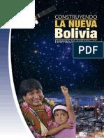 Construyendo la nueva Bolivia | Empresas Estatales