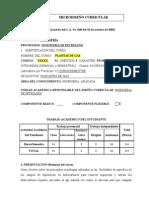 MICRODISEÑO curricular-Plantas de gas_ELECTIVA 2014A-Revisado14 octubre 2013