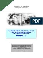 Cuestionario Universidad de Concepcion - Mmpi-2