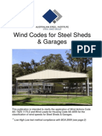429 Wind Codes for Steel Sheds