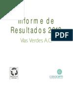 Informe Anual 2013 Vías Verdes AC