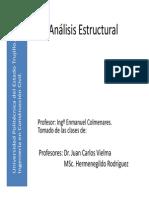 Trabajo, Energia, Desplazamientos (Analisis Estructural)