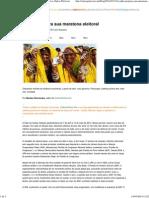 A Índia prepara sua maratona eleitoral _ Blog coletivo Outras Palavras