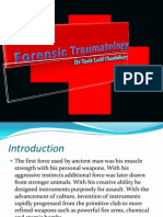 Forensic Traumatology