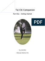 Tai Chi Companion Part 1- Getting Started