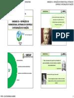 UNIDADE 01 - DEFINIÇÃO DE HOMEOSTASIA, SISTEMAS DE CONTROLE E INTEGRAÇÃO DE FUNÇÕES