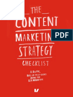 Content Marketing Strategy Checklist Velocity Partners