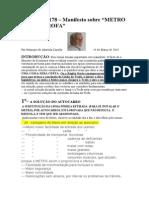 Crónica Nº 178 - Manifesto Metro Trofa-1