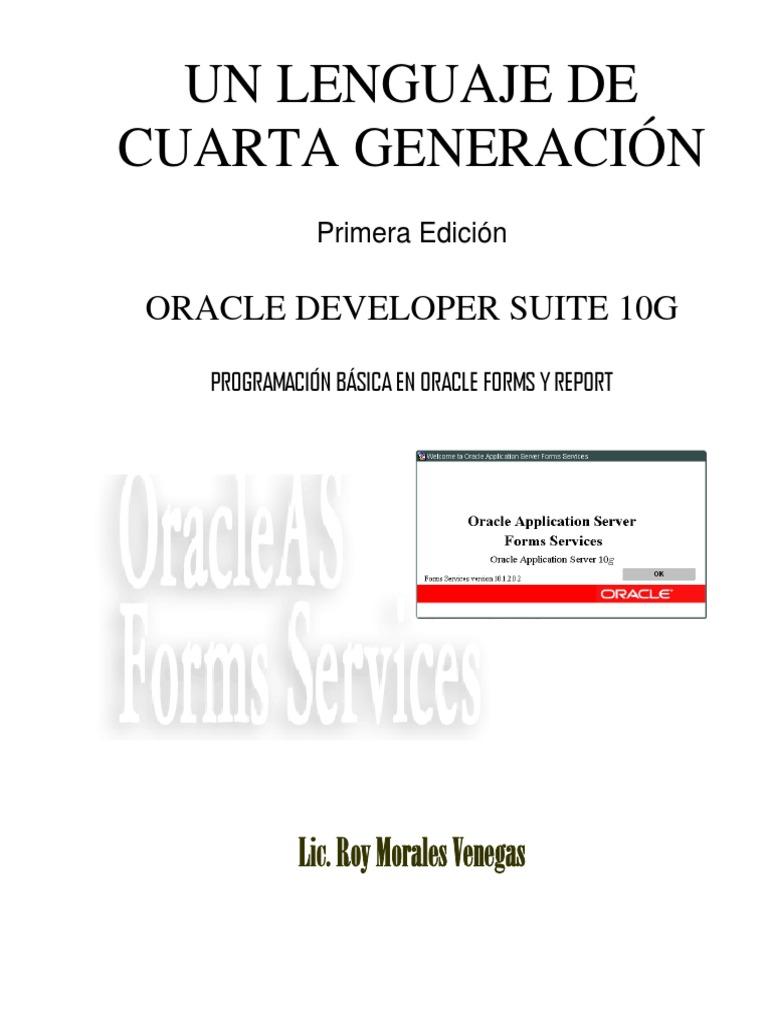 oracle database 10g manual del administrador pdf