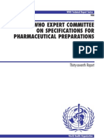 WHO-GMP Guidlines for Pharmaceutical Industries