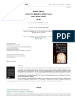 Rudolf Steiner - Christos Si Lumea Spirituala. Despre Cautare