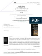 Rudolf Steiner - Stiinta Initiatica Si Cunoasterea Astrilor