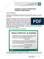 Lectura 1 - Importancia y Alcance Del Marketing