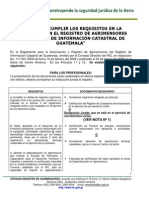 2011 Requisitos Inscrip Reg Agrimensores Ric II