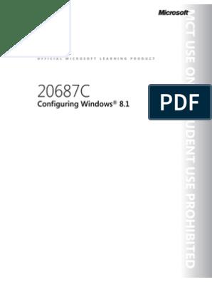 Curs Microsoft | Windows 8 1 | Hyper V