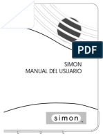 Manual Simon XT (Antigua)