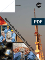 Sounding Rockets Annual Report 2012