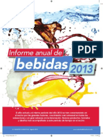 Informe Anual de Bebidas 2013