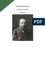 Dostoyevski, Fedor - Diario de Un Escritor