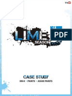 LIME 5 Case Study Asian Paints