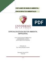Documento Soporte de Clases Desarrollo de Planes de Manejo Ambiental