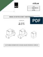 Manual de Instrucciones Compresor Quincy QGS (Español) Dic 2013