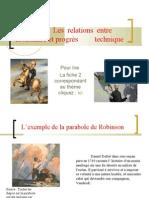 thème 2 - progrès technique 2009-2010