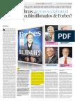 Como Se Elabora El Ranking de Multimillonarios de Forbes