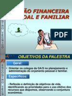 Gestão Financeira Pessoal e Familiar GA S