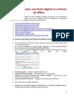Agregar o quitar una firma digital en archivos de Office.docx