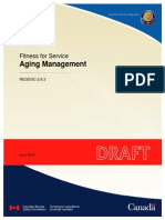 Fitness for Service - Aging Management