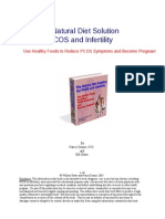 The Natural Diet Solution for PCOS and Infertility