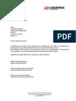 Carta Andrés Solano Rodríguez